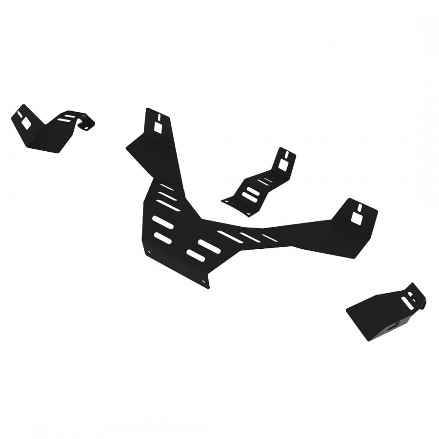 RS Formula V2 Speakers mount Upgrade kit Black
