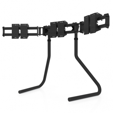 RS STAND T3L Black - Triple screen up to 3x32inch