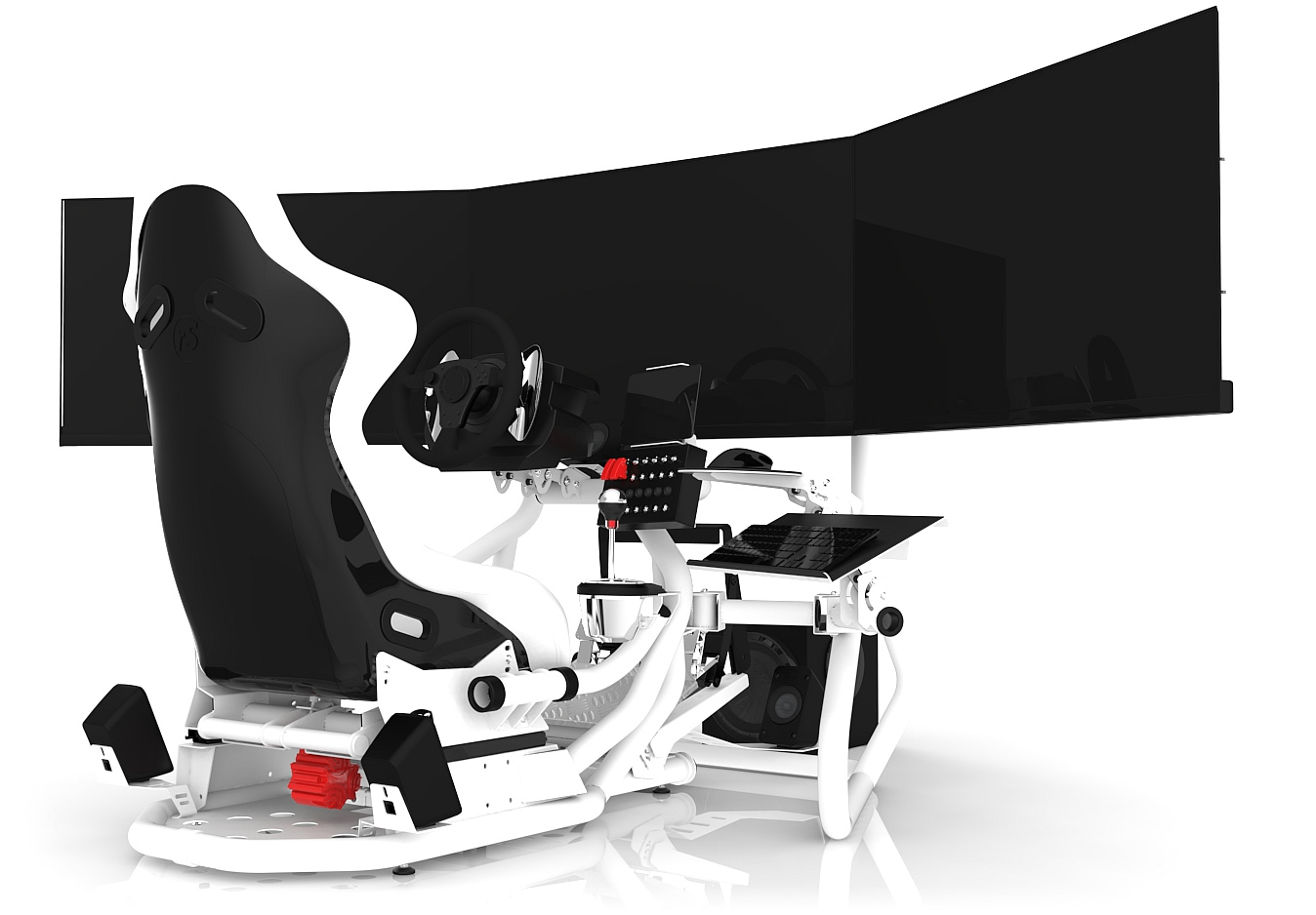 RSEAT RS1 White-White