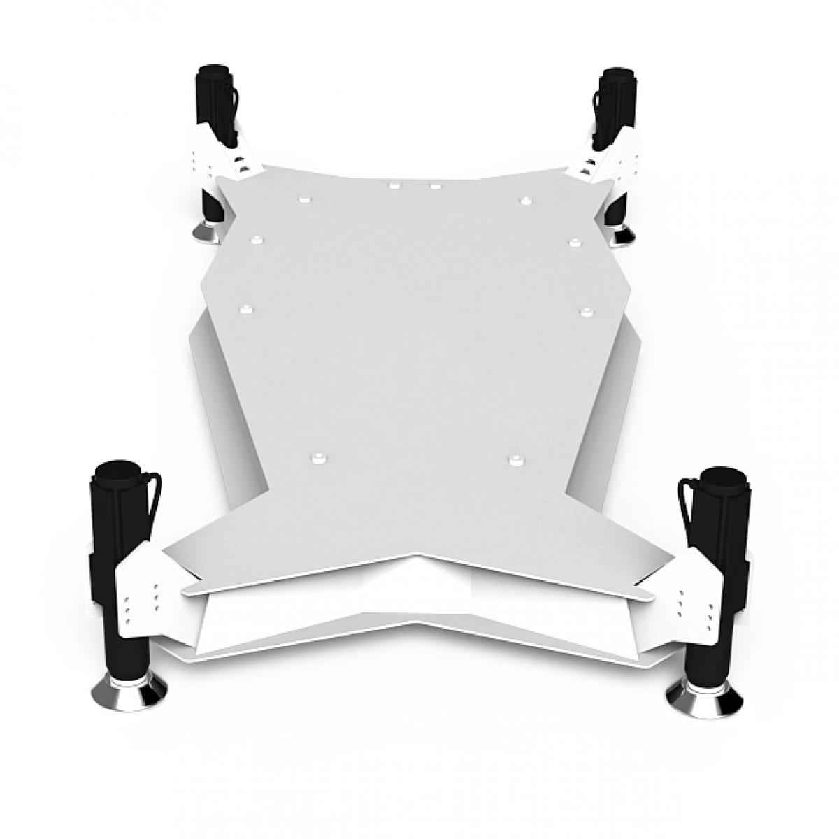 RS1 M4A D-BOX Motion upgrade kit White