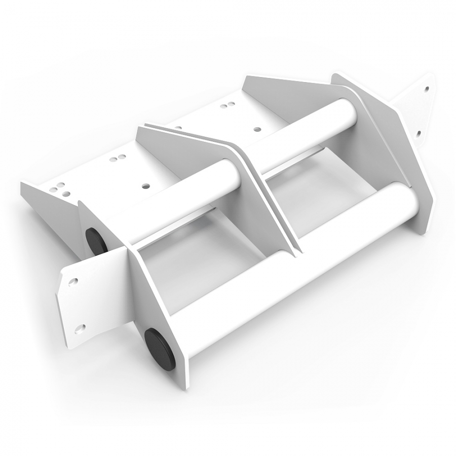 RSEAT N1 Buttkicker Mount Upgrade kit White