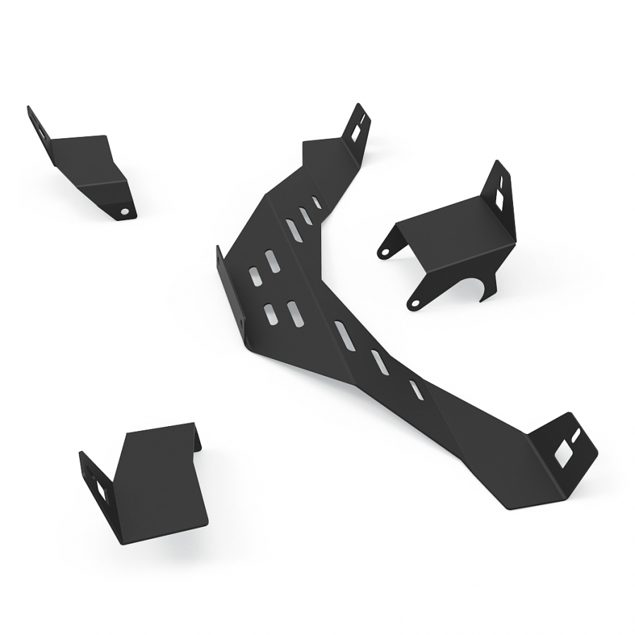 RSEAT N1 Speakers Mount Upgrade kit Black
