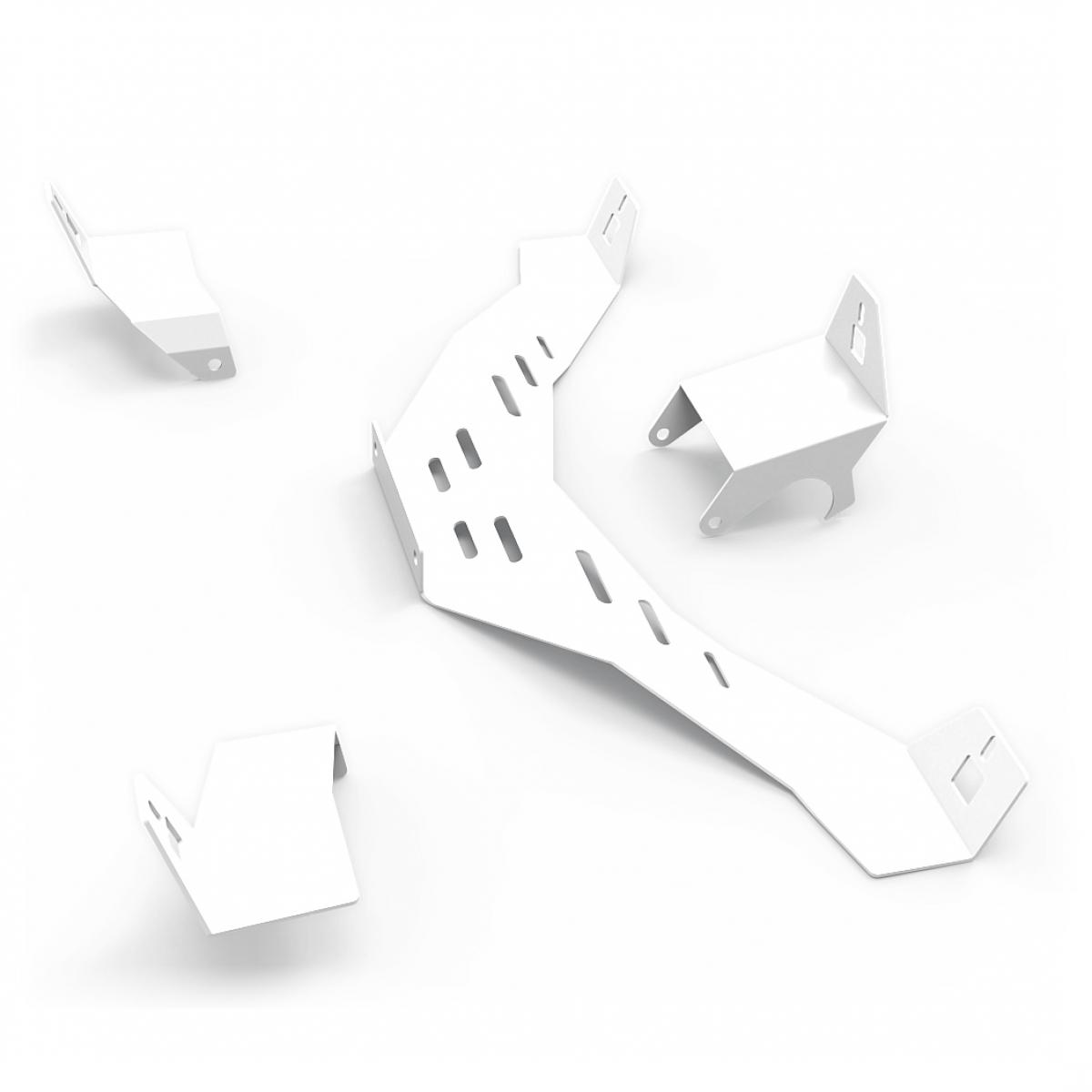 RSEAT N1 Speakers Mount Upgrade kit White