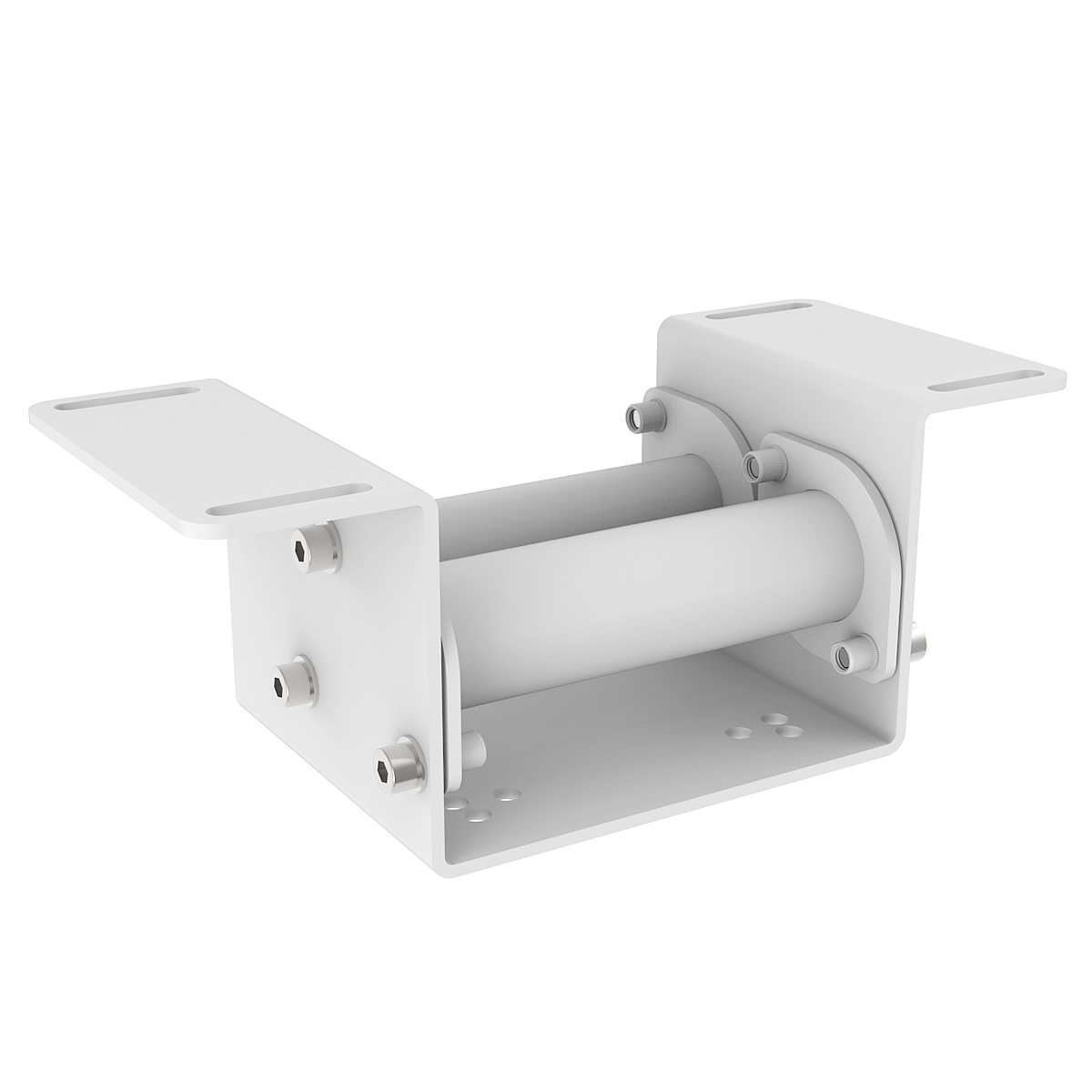 B1 / P1 / C1 Buttkicker mount Upgrade kit White