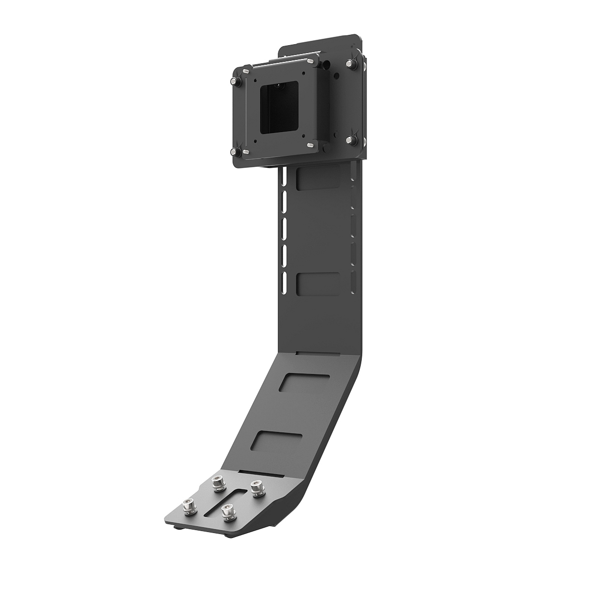 B1 / P1 / C1 Chassis Monitor Stand Black