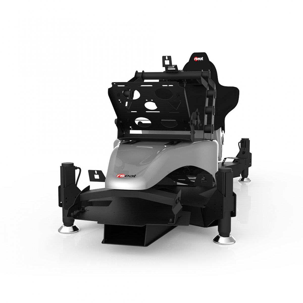 RS Formula M4A Silver Full Motion, Electrical Adjustment of the pedals and seat