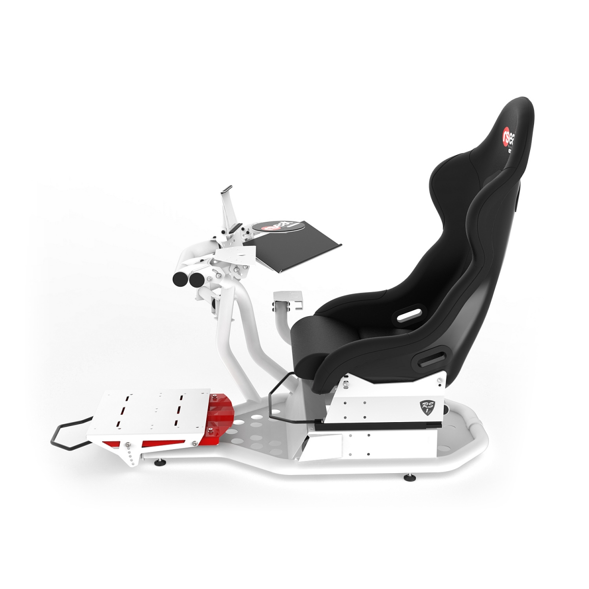 RS1 PRO Pedals Upgrade Kit White/Red