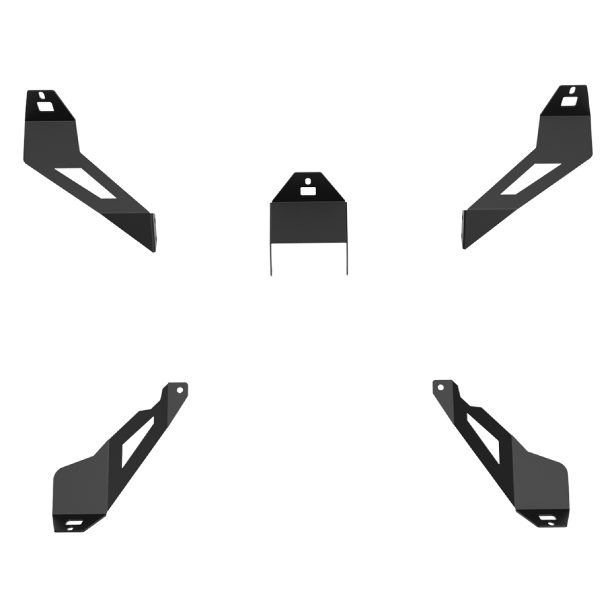 RSEAT S1 Speakers Mount Upgrade kit Black
