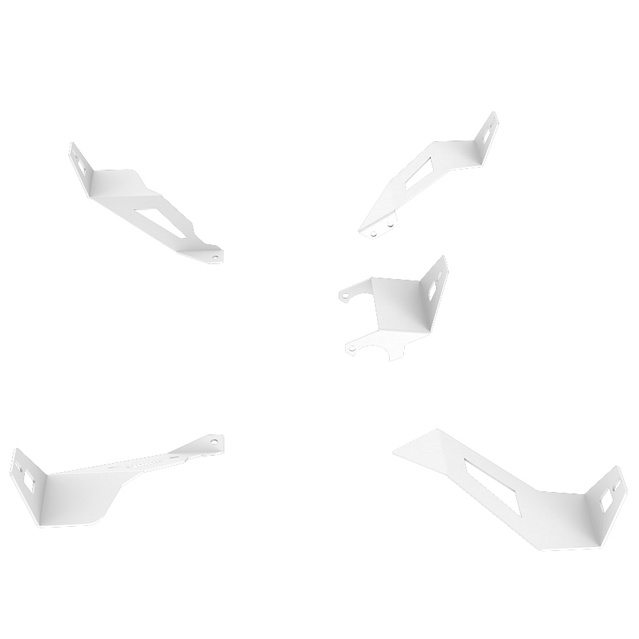 RSEAT S1 Speakers Mount Upgrade kit White