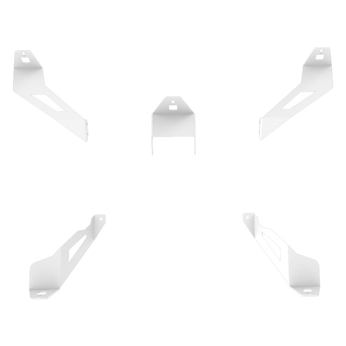 RSEAT S1 Speakers Mount Upgrade kit White
