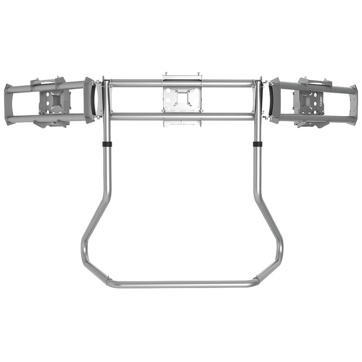RS STAND T3XLM Silver - Triple Ultra Wide Monitor Stand up to 3x38inch