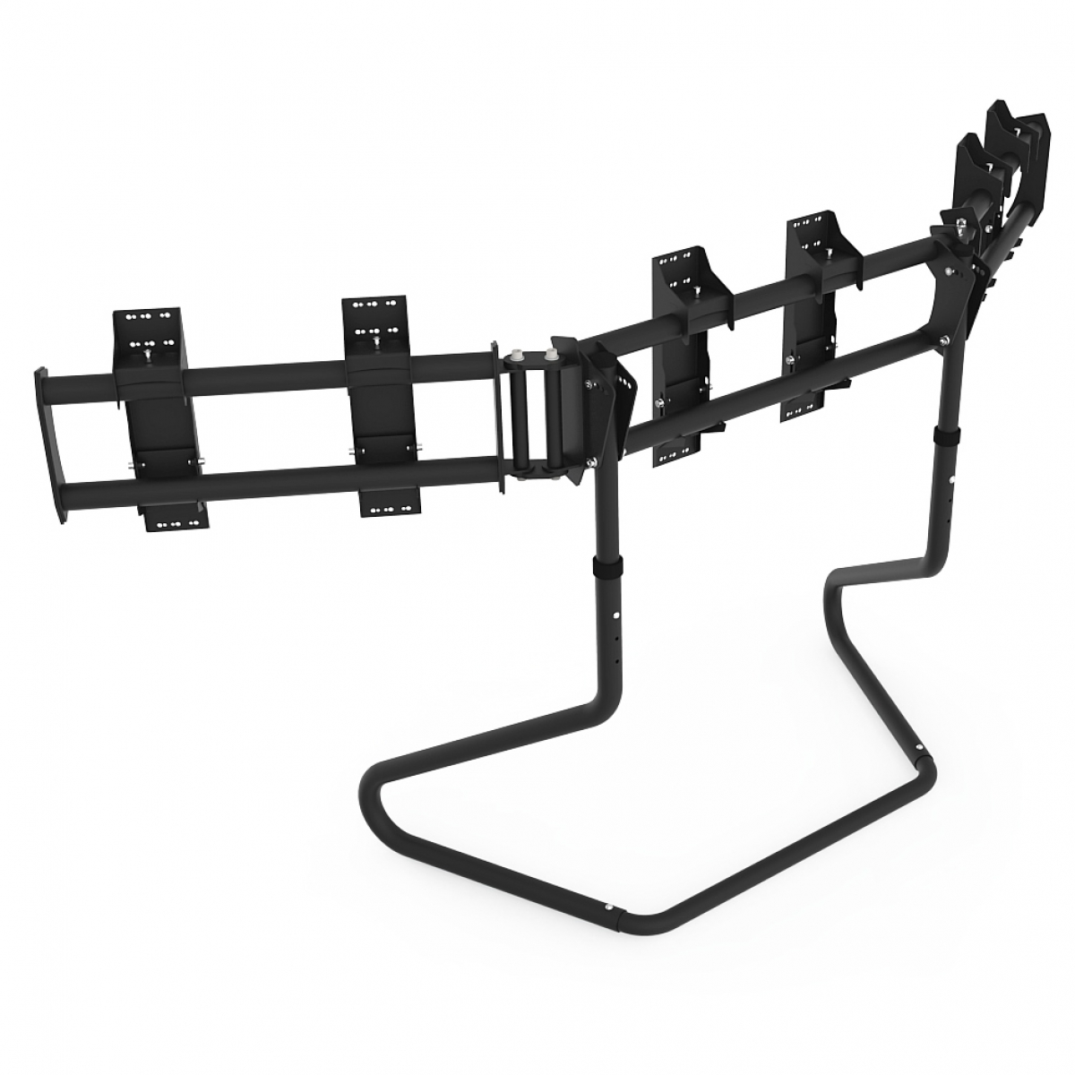 RS STAND T3XL Black - TV Stand for up to 3x50inch