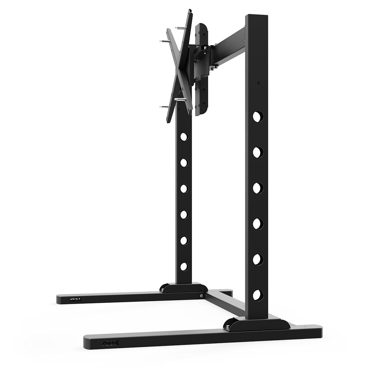 "SX90 - Single 27""-90"" TV/Monitor stand Black"