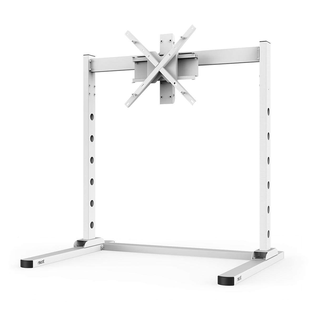 "SX90 - Single 27""-90"" TV/Monitor stand White"