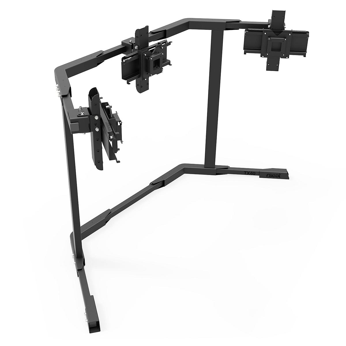 TX40 - Triple 27-40inch TV/Monitor Stand Black